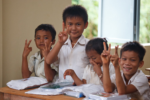 [Photo: Inside the Ray of Hope School]