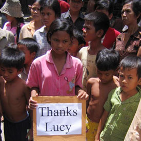 [Photo: Thanks from Cambodia]